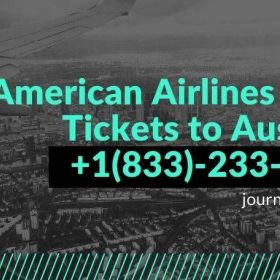 Book American Airlines Flight Tickets to Australia - Call @ +1(833)-233-5421!