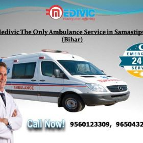 Medivic The Only Ambulance Service in Samastipur
